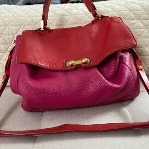 Marc by Marc Jacobs satchel with matching wallet